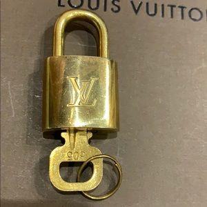 Louis Vuitton Lock With Key 🔐 #305